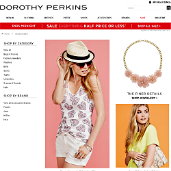 Go to Dorothy Perkins