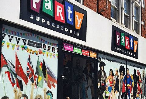 Link to the Party Superstores website