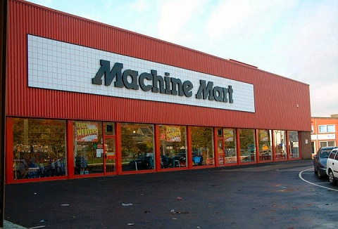 Link to the Machine Mart website