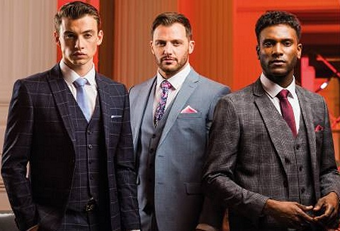 Link to the Slaters Menswear website