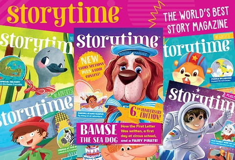 Link to the Storytime Magazine website