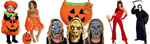 Halloween Costumes - Scary halloween bargains on costumes and mask